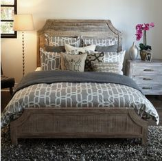 Aria California King Bed | Zin Home