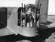 The Nash and Thompson Type rear turret of an Armstrong Whitworth Whitley Mark V of Squadron RAF at Driffield, Yorkshire, 8 March BFD Air Force Aircraft, Ww2 Aircraft, Military Aircraft, Ac 130, Lancaster Bomber, 8th Of March, Royal Air Force, D Day, Troops