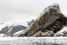 Paradise Harbour (gemaakt in Antarctica schiereiland en Weddell zee)