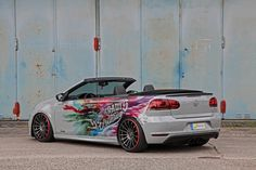 The German Tuning House Schmidt Has Painted A VW Golf VI Convertible  Putting a set of aftermarket alloys is probably the most common way to distinguish your car and the car owners will be surely satisfied. This is what Schmidt has done to a VW Golf VI convertible. Schmidt is widely known for its contribution to tuning cars with its CC-Zero rims of...