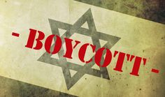 Today an opinion piece in The Telegraph attempts to liken Boycott Israel campaigns as Nazi's.    For starters, just look at this picture in the middle of the article - combined with the headline of the article