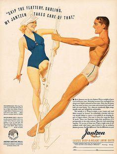George Petty - Jantzen Advertisement