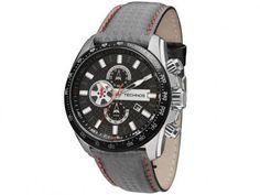 Relógio Masculino Technos OS1AAZ/0C Analógico - Resistente à Água Cronógrafo com as melhores condições você encontra no Magazine Jsantos. Confira!