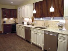 Kitchen Impossible Backsplash Gallery | DIY Kitchen Design Ideas - Kitchen Cabinets, Islands, Backsplashes | DIY