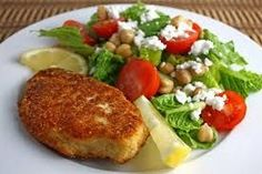 Yummy Parmesan Chicken for one Recipe via @SparkPeople