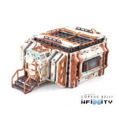 Infinity the Game terrain Cosmica HAB Building