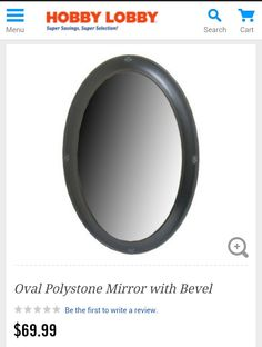 Perfect oval mirror