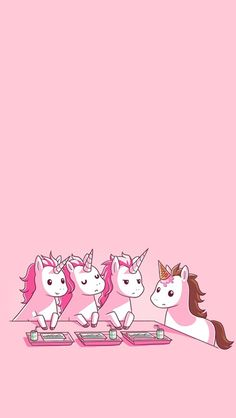 ❤Kawaii Love❤ ~unicorn, pink, and mean girls image Unicorn And Glitter, Real Unicorn, Magical Unicorn, Cute Unicorn, Rainbow Unicorn, Unicorn Party, Unicorn Club, Unicorn Dust, Unicorn Wedding