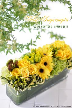 Fresh Flower Arrangement #63 by FLORAL NEW YORK, via Flickr
