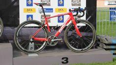 Greg Van Avermaet's BMC GranFondo RBX, Paris-Roubaix - 2015