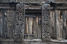 Ancient Norwegian door