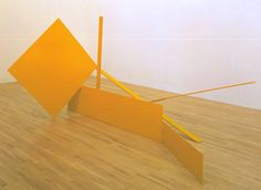 Sir Anthony Caro (1924‑2013) | Yellow Swing | 1965 | Painted steel | 1791 x 1981 x 3975 mm | Tate | Purchased 1965 | Reference T00799