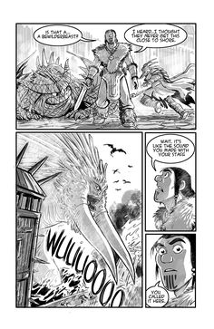 Dragon Trappers P.24 by rufftoon.deviantart.com on @deviantART