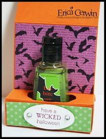 Pink Buckaroo Designs: Halloween Soap Holder Tutorial
