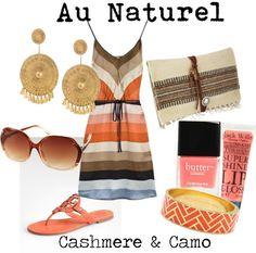 Au Naturel, created by cashmereandcamo on Polyvore