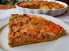 Ma Cuisine Végétalienne: Tarte aux petits pois, carottes (Vegan)