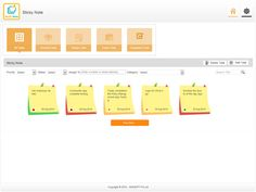 AVA's Sticky Notes enables you to manage the to-do and assign tasks to others.  Refer : http://goo.gl/p92gPj