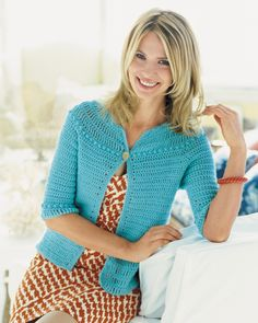 Summer Breeze Cardi | crochet today  May/June 2009       ♪ ♪ ... #inspiration_crochet #diy GB http://www.pinterest.com/gigibrazil/boards/