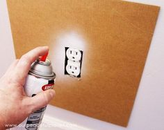Save time and money by painting outlets rather than replacing them. If you've got wall outlets that don't match you'll love this quick and inexpensive fix! Home Improvement Loans, Home Improvement Projects, Home Projects, Home Fix, Wall Outlets, Home Repairs, Basement Remodeling, Remodeling Ideas, Kitchen Remodeling