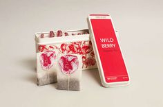 Encapsulated Infusion Branding : Twig Leaf Tea Packaging