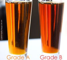 maple-grade-b-syrup better than grade a? Did not know this! I always buy organic pure maple syrup ( never imitation corn syrup kind!) if I'm going to eat syrup it's going to be the good stuff!