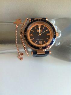 Ikki watch and bracelets