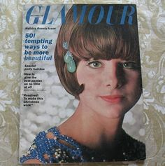 Vintage Glamour Magazine December 1963  Holiday by SewHallie