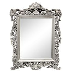 Silver Ornate Framed Mirror Dunelm Furniture Decor From Bathroom Mirrors