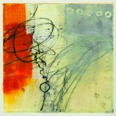 Jane Davies -  yesterday I spent the day at Jeri McDonald's studio doing small encaustic paintings on paper. I haven't done encaustic in a while, and it was great to get back to it.