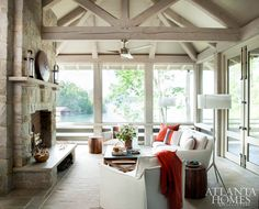 Lake Minded: An Atlanta family answers the call of Lake Burton in this relaxing retreat by Spitzmiller & Norris and Teri Duffy.