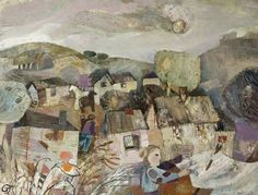 Gwyneth Johnstone - The Village Scene