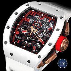 ========================================== Geneva  -  RICHARDMILLE - RM11 White Demon ==========================================#Luxurymachines#luxurywatchesstockholm#swisswatches#watches#luxe#sportcar#supercars#watchporn#richardmille#men#menwatches#watch#time#tourbillon #paris #newyork #berlin#porsche #audemarspiguet #rolex #richardmille#nautilus #royaloak #patekphilippe#daytona#submariner #audemarspiguet #hublot#panerai#america#rolexero #rosegold…