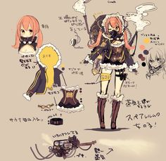 Game Character Design, Character Design References, Character Design Inspiration, Character Concept, Concept Art, Girls Characters, Fantasy Characters, Anime Characters, Character Modeling