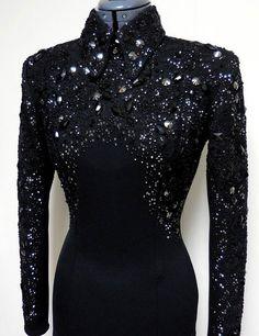 Love this! Black on black.