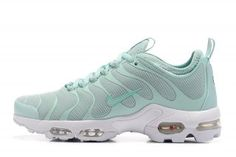 b10e909186d1 Womens Nike Air Max Plus Tn Ultra Enamel Green White 830768 331 Running  Shoes Nike Air