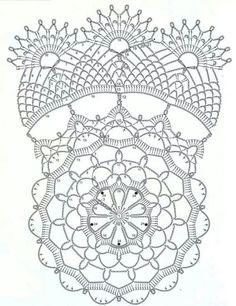Patrón #crochet #crochetchart