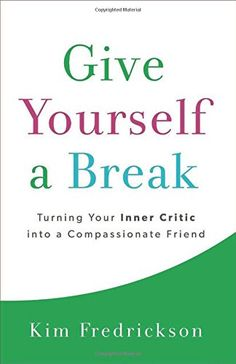 Give Yourself a Break: Turning Your Inner Critic into a Compassionate Friend by Kim Fredrickson http://www.amazon.com/dp/0800724410/ref=cm_sw_r_pi_dp_HczOvb04WA67J