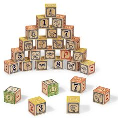 they have the coolest blocks for learning all kinds o f languages. The ABC's of learning Hebrew — at any age.