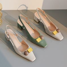Slingback Shoes, Shoes Heels Pumps, High Heels, Sensible Shoes, Cinderella Shoes, Expensive Shoes, Fashion Shoes, Fashion Fashion, Runway Fashion
