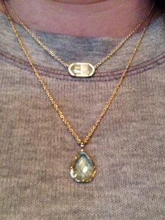 Kendra Scott Elisa Birthstone Crystal Necklace klwmkyl