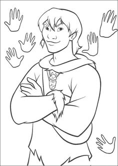 brother bear coloring book pages brother bear 11 - Brother Bear Moose Coloring Pages