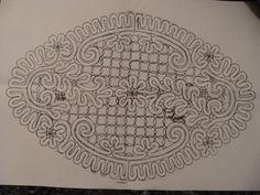 A Bobbin Lace Lover: Motivo de Encaje Ruso (Vologda) para caja de hilos Russian (Vologda) bobbin lace for a threads box