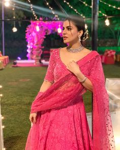 Elegant, beautiful and charming Shraddha Arya wearing my wedding collection for her friends wedding at jaipur. Please DM for orders or… Pink Lehenga, Indian Tv Actress, Stylish Girls Photos, Indian Wedding Photography, Cute Celebrities, Traditional Looks, Friend Wedding, Indian Wear, Indian Fashion