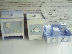 Kit bebê - MDF - Enxoval   $170