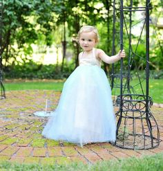 light blue flower girl tutu dress, wrong color (and this dress is no longer being sold, but I love the silk bodice.)