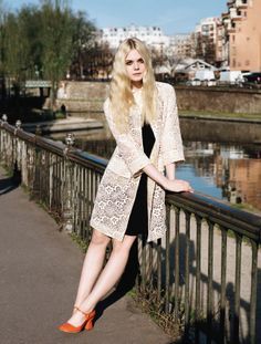 Elle Fanning, photographed by Angelo Pennetta for Vogue UK, June 2014.