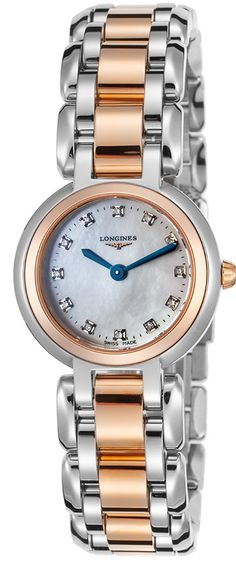 Longines PrimaLuna Two-Tone Ladies Watch Big Watches, Sport Watches, Cool Watches, Rolex Watches, Watches For Men, Tag Heuer Aquaracer Ladies, Discount Watches, Automatic Watch, Digital Watch