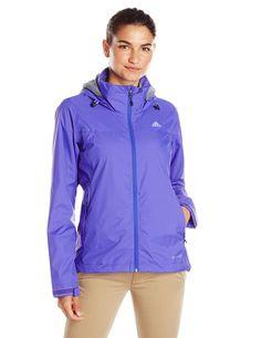 adidas Outdoor Women's Wandertag Jacket, Night Flash, Large. Zip-up jacket featuring adjustable cuffs, mesh lining, and adjustable hood.