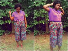 My blog photo shoot: Purple Life Is What We Found