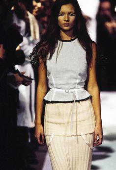 Maison Margiela, Look #4, 1993, Kate Moss